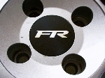 FR Center Cap Decals - Many Sizes / Colors Ford Mustang Focus