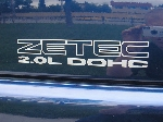 ZETEC 2.0L DOHC Decal Set- OUTLINED