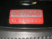 GETRAG 6 Speed Decal - 2002-2004 Ford Focus SVT 02-04