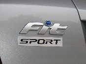 Magnetic Sport Emblem - fits Honda Fit GD3 / GE8 Any Sport Model