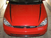 Hood Stripes- 2000-2004 Ford Focus 00-04 SVT ZX3 ZX5 00-04 ALL