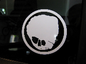 Shrunkenheadman Decal- San Jose State Animation- Small SHM Decal