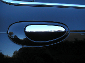 Chrome Door Handle Decals- 1999-2004 Chrysler 300m 300 M Logo
