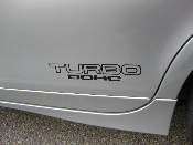 TURBO DOHC Decals - Many Colors - 2 High Quality Vinyl Stickers