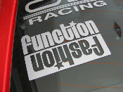 Function Over Fashion Decal- Functional Stance - Anti Hellaflush