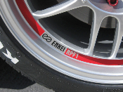 Logo Decals for Enkei Wheels- Set of 4- All Enkei Wheels RPF1