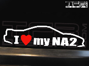I love my Acura NSX NA2 decal
