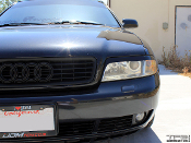 Headlight eyelids for the Audi B5.