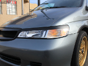 Headlight eyelids for the Honda Odyssey.