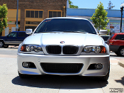 Headlight eyelids for the BMW 3 series