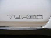 Nissan 300zx turbo door decals.