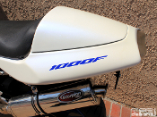 This is a set of 1000F decals for the 1997-2005 Honda VTR1000F.