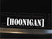 Hoonigan vinyl decal sticker