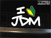 I love JDM vinyl decal.