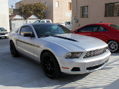2010 Ford Mustang TFB Designs Custom Graphics