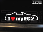 I love my EG2 decal.