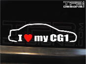 I love my CG1 4 door sedan decal.