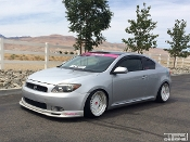 Windshield banner for the Scion TC
