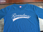 Grandma shirt with personalized names on back exclusive to TFB Designs!