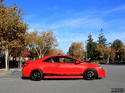 Honda Civic Si FG2 lower side stripes