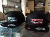 TFB Designs embroidered snap back hat - Quality flat bill cap!