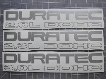 Duratec Dohc Decals - Ford Focus / Contour - Many Colors