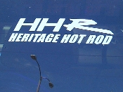 Heritage Hot Rod Decal - Chevrolet HHR - Chevy Vinyl Sticker