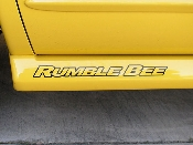 Rumble Bee Decals - fits Dodge RumbleBee 18 Inch Logo Stickers