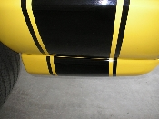 Lower Side Stripe Extensions - fits Dodge Rumble Bee RumbleBee