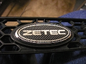 ZETEC Emblem Decals (x2) 1997-2002 Ford Escort ZX2 97-02