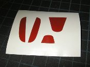 Steering Wheel Emblem Inserts- fits the 2012 Honda Civic & Si
