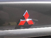 Emblem Decals- 2000-2003 Mitsubishi Galant 00-03 -Many Colors