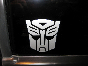 Transformers Autobot Decal - Many Sizes / Colors - Vinyl Sticker