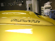Hood Scoop / Tail Gate Decals- Dodge Rumble Bee Logo Stickers
