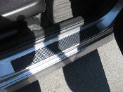 3M Carbon Fiber Door Sill Decals- 2007-2008 Honda Fit GD3 07-08