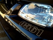 Build Number Decal- Ford Mustang Saleen Roush Focus SVT