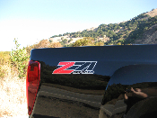 Z71 Off Road Decals -GMC Canyon Chevy Colorado Silverado Tahoe