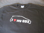i love my honda civic si fg2 shirt