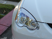 Headlight eyelids for the Acura RSX.