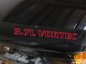 This is a 8 inch wide 3.7L Vortec decal for your truck or SUV.