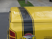 dodge rumble bee tonneau cover stripes