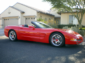 2002 Chevrolet Corvette C5 convertible.
