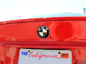Colored BMW emblem decals