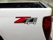 Z71 4x4 Decals - 2004-2014 GMC Canyon Bed Side Logos  - 2 Decals