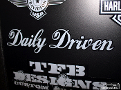 Daily driven decal JDM style vinyl sticker
