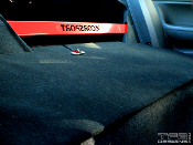 Rear seat delete template for the 2006-2011 Honda Civic Si coupe.