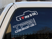 I love my s10 pickup vinyl decal.