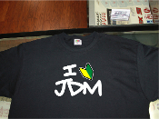 I love JDM shirt with new driver badge.