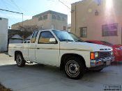Stripe kit for the Nissan D21 Hardbody pickup truck.