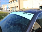 Windshield banner for the 2008-2012 Honda Accord